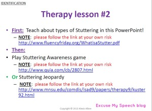 How do you educate your students about stuttering?