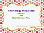 **212 pictures!!!! Pictures to target **7 Phonological Processes ** Cards can be used for Auditory Discrimination, Targeting phonological processes with the use of Minimal and Near Minimal pairs, Homework – send home cards with student