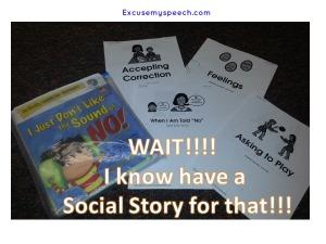 behavior management with social stories