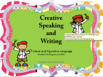 Creative Spkg Writing