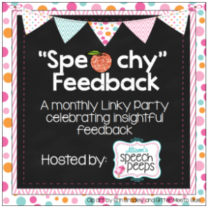 Aug speachy feedback linky