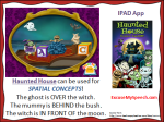 Halloween apps in speech