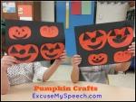 Halloween fun in speech therapy