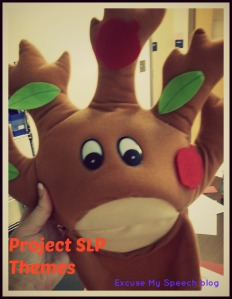 """Preschool and Kindergarten THEMES for Project SLP posts at """"Excuse My Speech blog"""""""