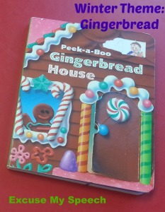 Winter theme:  Gingerbread - 3 activities to use in speech therapy